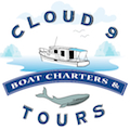 Clound 9 Boat Charter & Tours Sticky Logo